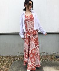 ペイズリーsetup dress