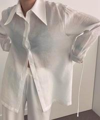 string shirt/ホワイト:グレー:ブラック