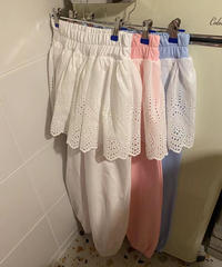 lace  docking  pants/3 color