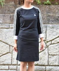 Adidas   3Stripes Long Sleeve Dress  七分袖ワンピース