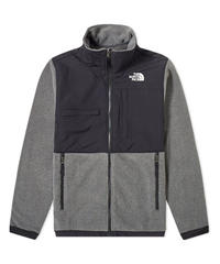 THE NORTH FACE DENALI フリースジャケット CHARCOAL GREY HEATHER