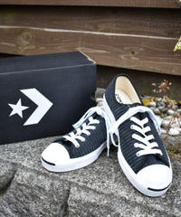 CONVERSE Jack Purcell Ox コーデュロイスニーカー BLACK/WHITE