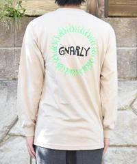 Gnarly Tribal Sun Sand ロゴ長袖Tシャツ