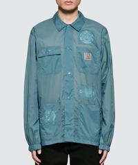 BRAIN DEAD × CARHARTT Chore Coat ナイロンジャケット BLUE