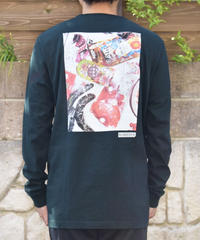 NUMBERS EDITION DAIFU L/S TEE フォトプリント ロングスリーブTシャツ