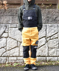 海外限定【 THE NORTH FACE 】 7 SUMMITS 95 Himalayan Fleece Suit オーバーオール  YELLOW