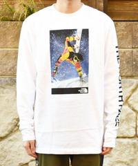海外限定【 THE NORTH FACE 】 '92 RAGE  Retro   長袖ロゴTシャツ WHITE