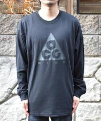 NIKE ACG  LOGO TEE 長袖ロゴTシャツ BLACK