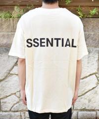 FEAR OF GOD ESSENTIALS ロゴTシャツ  CREAM