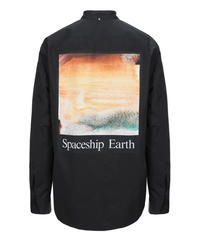 OAMC SPACESHIP EARTH アートロゴシャツ BLACK