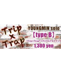 """④―ミュージックカード― 【Youngmin-type B】ヨンミン(ソロ)""""Trip × Trap""""+デジタルフォトブック"""