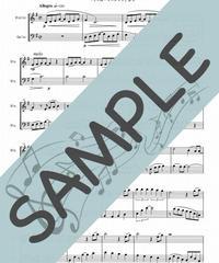 SJ-VC002-01 パート・オブ・ユア・ワールド(Part of Your World)「リトルマーメイド」より/アラン・メンケン:弦楽二重奏(バイオリン&チェロ)