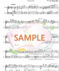 FD027 ノクターン第2番 作品9-2/ショパン(フルートとチェロの二重奏)