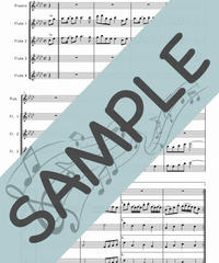 SN-TFF001-01 千本桜/黒うさP:フルート九重奏(Piccolo,8Flutes)