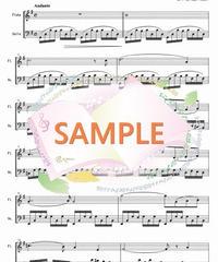 FD036 アヴェ・マリア&プレリュード/グノー&J.S.バッハ(フルートとチェロの二重奏)