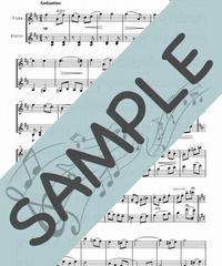 SP-FV020-01 愛の挨拶/エルガー:フルート&バイオリン