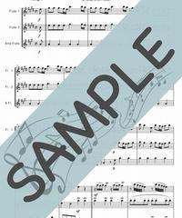 SP-FT001-01 四季より「春」/ヴィヴァルディ:フルート三重奏(2Flutes,Alto-Flute)