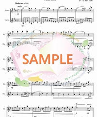 FD030 君を愛す/ベートーヴェン(フルートとヴァイオリンの二重奏)