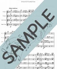 SP-FQG004-01 ハレルヤ・コーラス / ヘンデル:フルート四重奏(2Flutes,Alto-Flute,Bass-Flute)