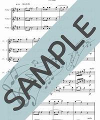 SP-FT015-01 クリスマスキャロル・メドレー 2:フルート三重奏(3Flutes)