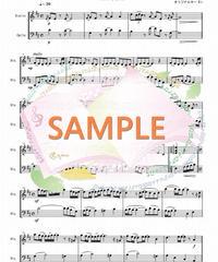 SD005 ひまわりの約束/ 秦 基博:弦楽二重奏(バイオリン&チェロ)