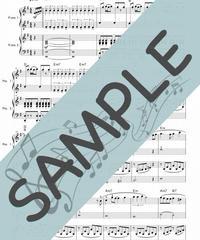 SJ-PD001-03 君をのせて「天空の城ラピュタ」より/久石譲:ピアノ連弾