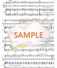 HF009~HF012 春の曲:クラシック4曲セット:ハープとフルート