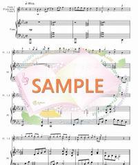 PF012 「花」すべての人の心に花を/喜納昌吉:フルートソロ(又はフルート2本)とピアノ