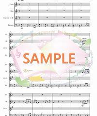 WER012 スタンド・バイ・ミー(Stand by Me):木管四重奏(Flute,Oboe,Clarinet,Bassoon)