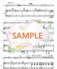 PF002 Tango of The Passion~熱き思いを/井関るみ:フルート2本(フルートソロ)とピアノ