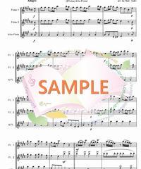FT001 四季より「春」/ヴィヴァルディ:フルート三重奏(2Flutes,Alto-Flute)