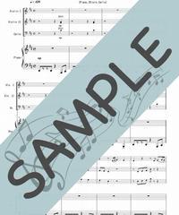 SJ-P3S001-01 スタンド・バイ・ミー(Stand by Me)/ベン・E・キング:ピアノ四重奏(Piano,2Violin,Cello)