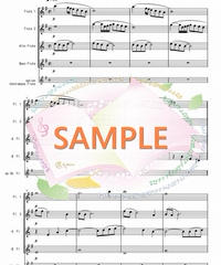 FQG023 アヴェ・マリア/カッチーニ:フルート四重奏(2Flutes,Alto-Flute,Bass-Flute/op.+Contrabass-flute)