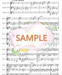 CT004 四季の彩り~日本の歌メドレー:クラリネット三重奏