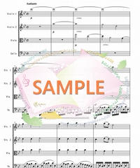 SQ001 さくらさくら/ 日本古謡:弦楽四重奏(String quartet)