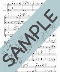 SP-FV023-01 あら野のはてに(Angels We Have Heard On High)/讃美歌:フルート&バイオリン