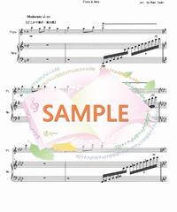 HF012 春の訪れ(全5曲メドレー)/滝廉太郎、他:ハープとフルート