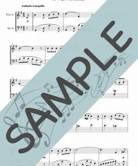 SP-VC007-01 歌の翼に/メンデルスゾーン:弦楽二重奏(バイオリン&チェロ)