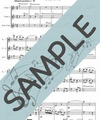 SP-FT002-01 春の歌 /メンデルスゾーン:フルート三重奏(2Flutes,Alto-Flute)