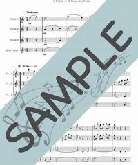SP-FT006-01 ジュ・トゥ・ヴ/サティ:フルート三重奏(3Flutes or 2Flutes,Alto-Flute)