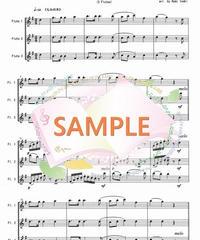 FT015 クリスマスキャロル・メドレー 2:フルート三重奏(3Flutes)