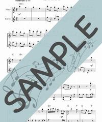 SP-SET006-01 讃美歌5曲セット(FV022~FV026):フルート&バイオリン