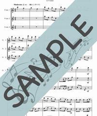 SP-FT014-01 クリスマスキャロル・メドレー 1:フルート三重奏(3Flutes)