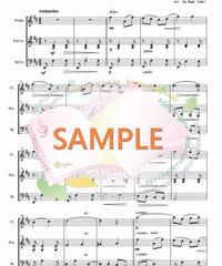 FVC005 愛の挨拶/エルガー:管弦楽三重奏(フルート、バイオリン、チェロ)
