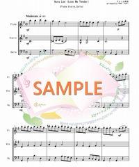 FVC012 オーラ・リー(Love Me Tender)/アメリカ民謡:管弦楽三重奏(フルート、バイオリン、チェロ)