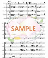 TFF003 四季より「春」/ヴィヴァルディ:フルート九重奏(Piccolo,4~8Flutes)