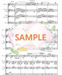 SDT001 川の流れのように/見岳章:弦楽三重奏(バイオリン&バイオリンorビオラ&チェロ)