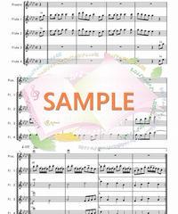 TFF001 千本桜/黒うさP:フルート九重奏(Piccolo,8Flutes)