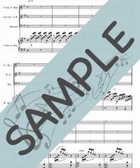 SP-P3W001-01 アヴェ・マリア/カッチーニ:ハープ又はピアノ&木管三重奏(オーボエorフルート、クラリネット、ファゴット)