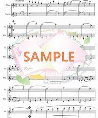 FD029 ジュ・トゥ・ヴ/サティ(フルートとヴァイオリンの二重奏)